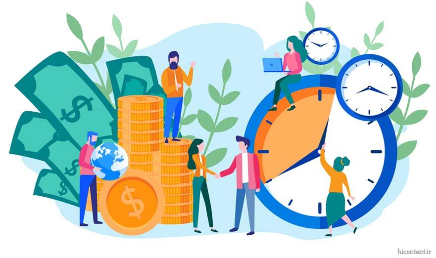 زمان کسب و کار اینترنتی